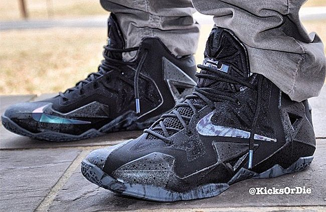Nike LeBron XI Black Rain (First Look)