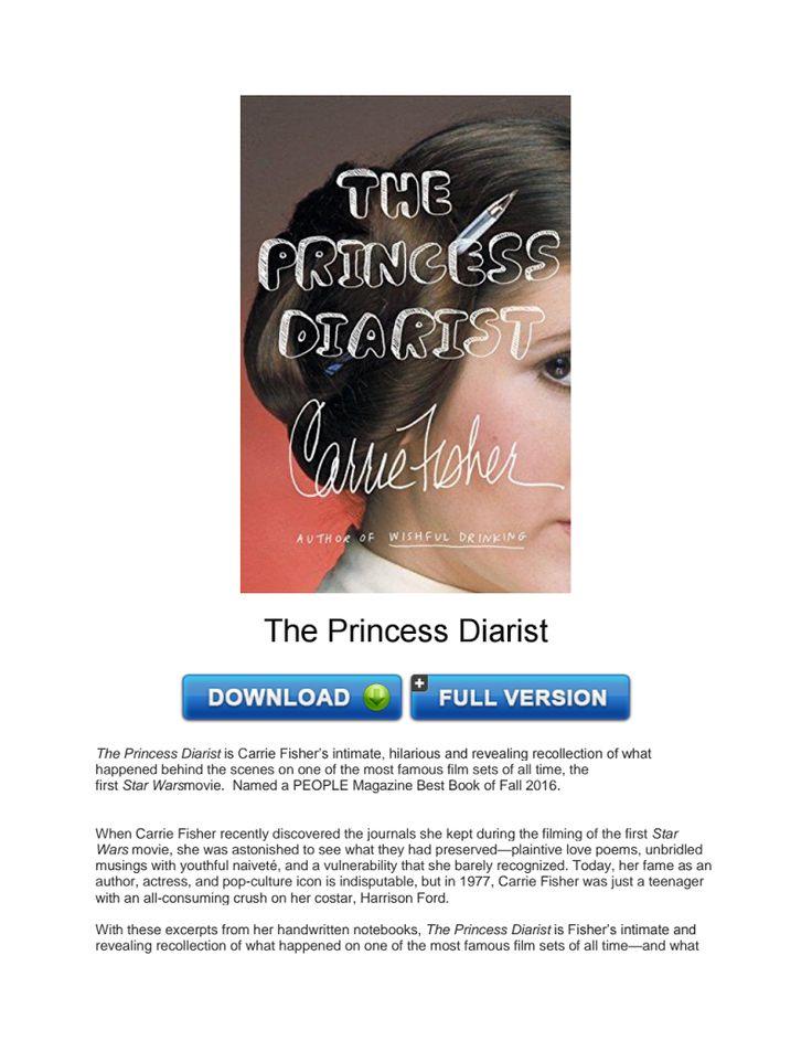 Download The Princess Diarist PDF