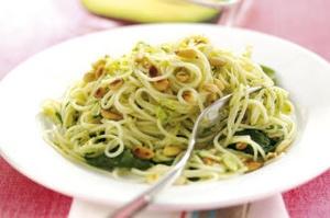 Рецепт спагетти с соусом песто из авокадо - рецепт и приготовление