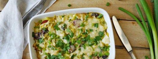 Ein deftiger Spitzkohl-Kartoffel-Auflauf ist Hausmannskost at it's best!