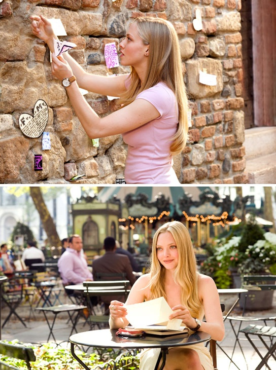 Letters to Juliet - for a letter writer like myself, this is a perfect movie.  So cute.