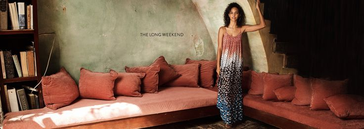The long weekend. Summer dresses and more women's vacation essentials.