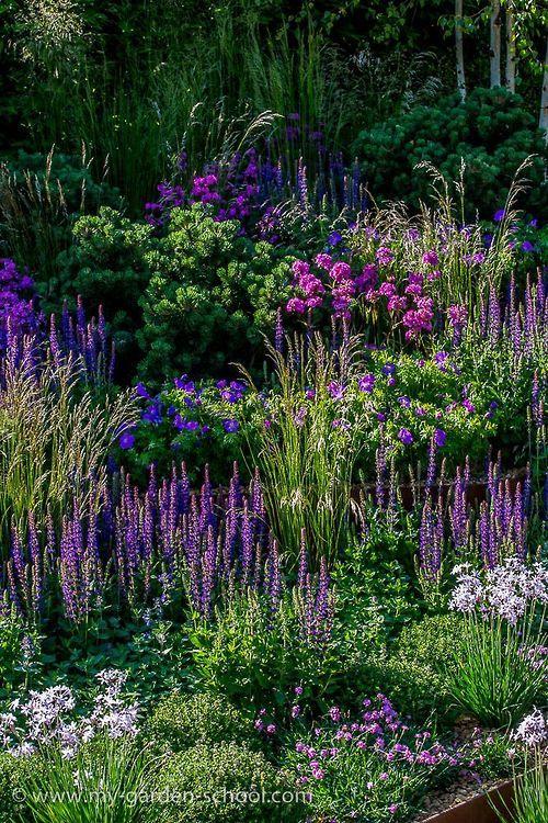 shades of purple...