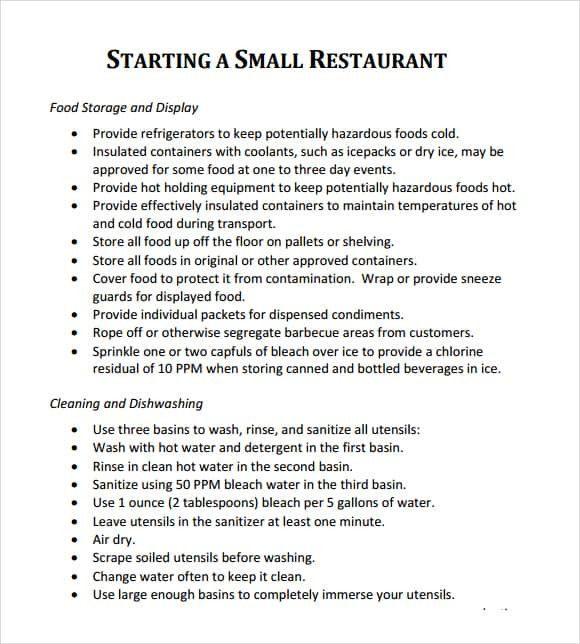 Restaurant Business Plan Template Word Elegant 32 Free Restaurant Business Restaurant Business Plan Sample Business Plan Template Word Restaurant Business Plan