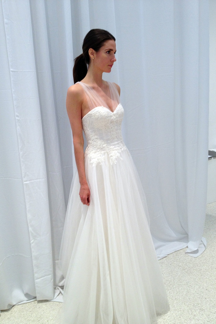 The 23 best Amsale images on Pinterest | Short wedding gowns ...
