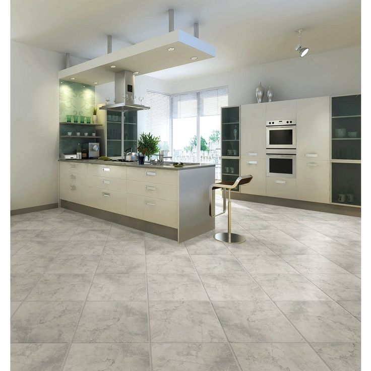 Shop Chilo Grey Ceramic Indoor/Outdoor Floor Tile (Common: 18 In X