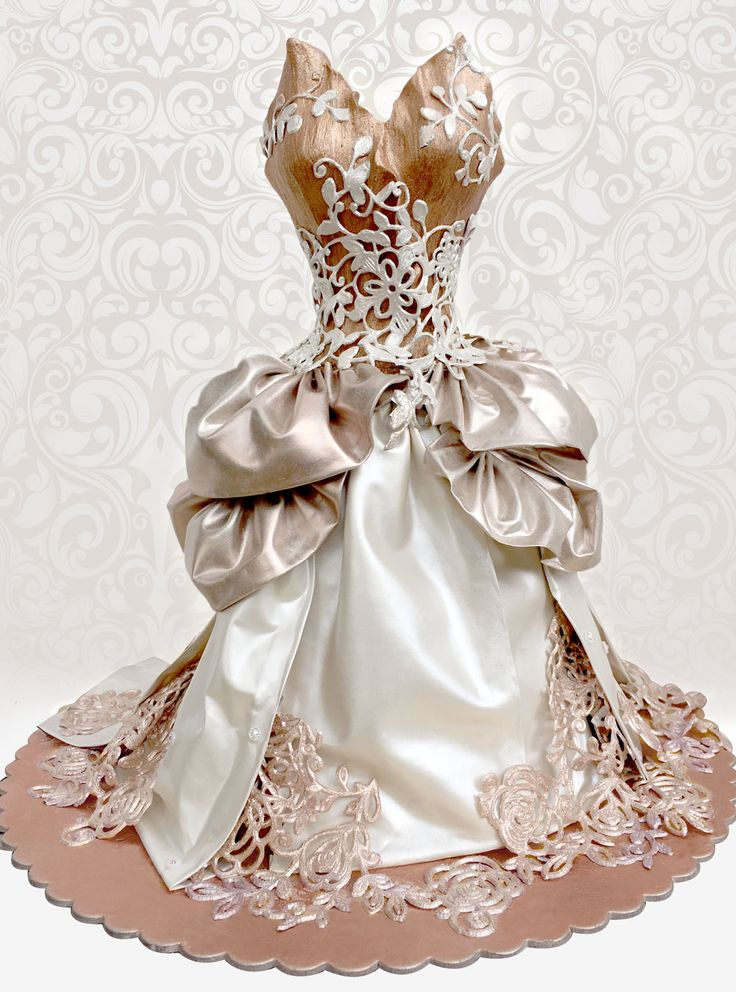 Take a look at the incredible figurine created using FabricArt. This is showcasing the unlimited possibilities of making use of the fabric! AND it is 100% EDIBLE It is perfect for all draping on cakes, figurines, make bows, flowers and so much more...... Available in 4 colours: Gold, rose Gold, Silver and satin White. 2 strips per pack, each approx 34 x 11cm Get yours today: www.crystalcandy.co.za www.crystalcandyonline.com