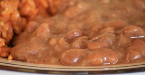 Refried Beans Recipe | Real Mexican Food | Pinterest