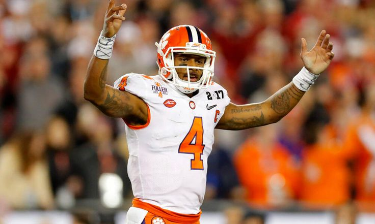 Dabo Swinney reiterates that teams will regret passing on Deshaun Watson = No one knows Texans QB Deshaun Watson like Dabo Swinney, who coached him at Clemson. And Swinney, who has never shied away from a chance to talk up his former star, still thinks teams are going to regret letting him slip away. Two teams did, and did so aggressively. First, the Chicago Bears traded up from No. 2 to No. 3 to…..