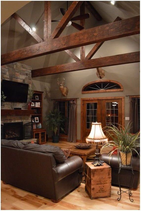 The Benefits Of Vaulted Ceiling In 2020 Farm House Living Room Farmhouse Decor Living Room Country House Decor