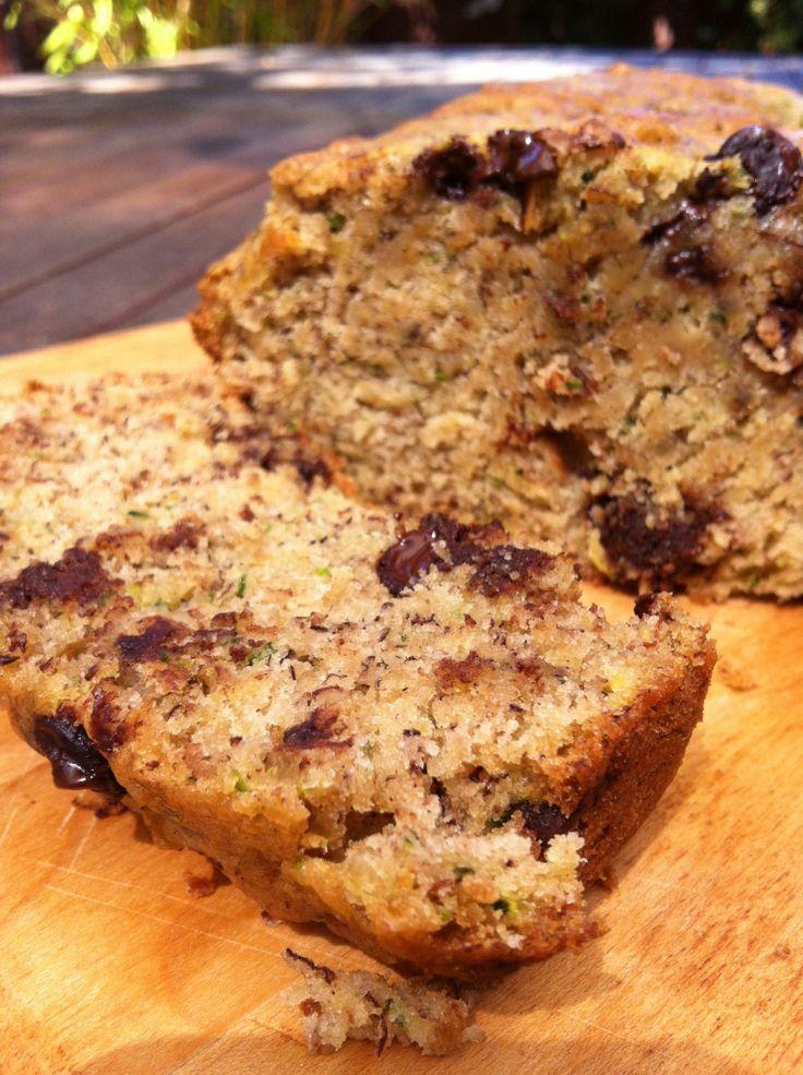 Chocolate-Banana-Zucchini Bread   Baby food recipes ...