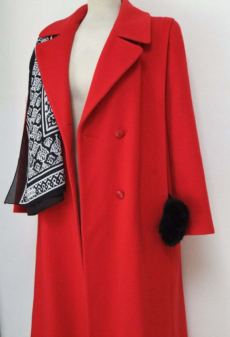 1000  ideas about Red Wool Coat on Pinterest | Burberry winter