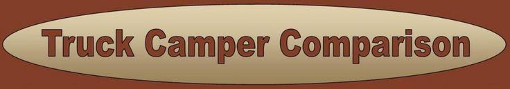 Truck Camper Comparison