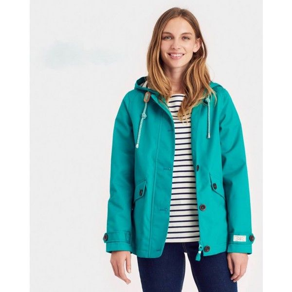 RIGHT AS RAIN COLLECTION - Joules smaragdzöld színű esőkabát - Joules gumicsizmák