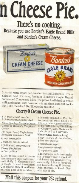 The best cherry cheese pie you will ever make.