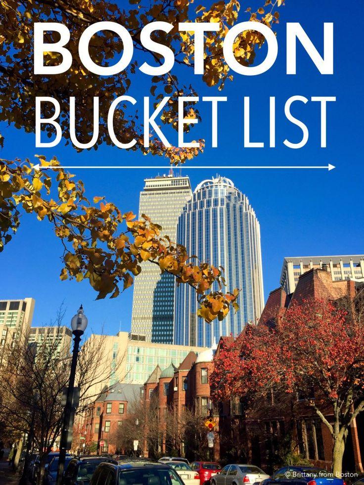 Boston Bucket List // Brittany from Boston