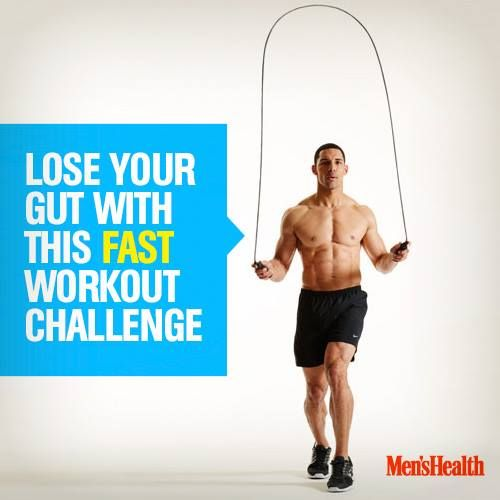 how to lose a gut fast for men