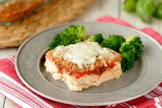 Weight Watchers SmartPoints=6: Hungry Girl's Healthy No-Harm Chicken Parm Casserole Recipe