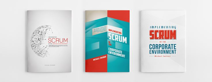 3 Different options for Scrum Cover Design