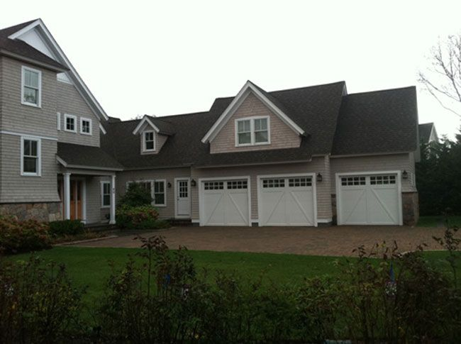 Cape Cod House Gallery | ... House $$ Photo Gallery for the Overhead Garage Door Company of Cape