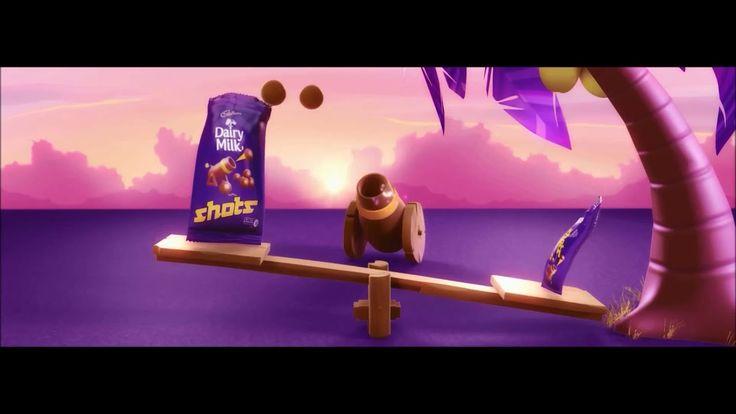 Cadbury Dairy Milk Shots Seesaw