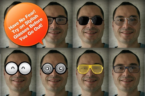 fun #eyewear #app from iGlasses. This one  allows you to try on funky eyewear and share.