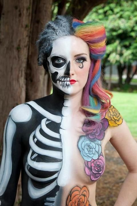 awesome body painting special fx avant garde makeup