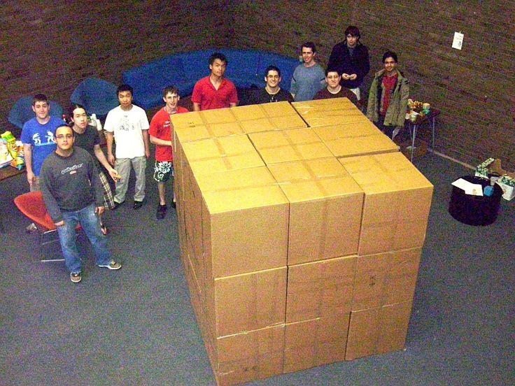 Giant soma cube