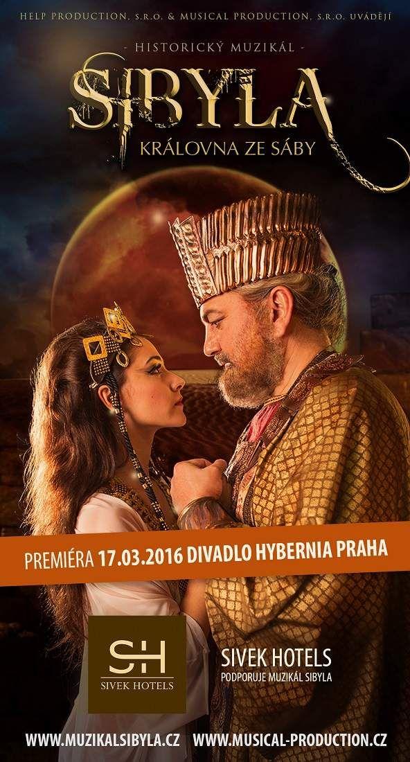 Sivek Hotels partnerem muzikálu Sybila – Královna ze Sáby