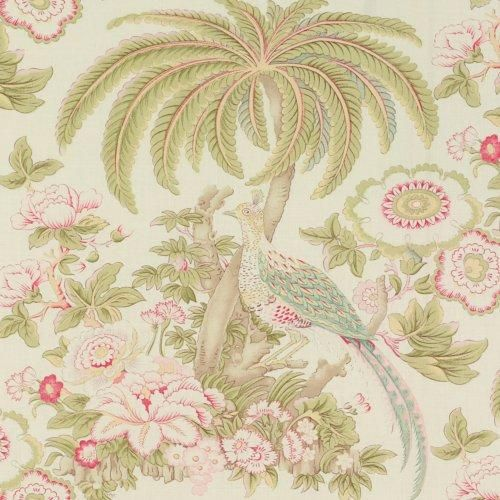 Schumacher Thicket Bright Bloom Fabric in 2020 Fabric