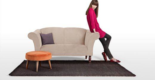 Garston 2-Sitzer Sofa in Hellbeige ► Entdecke moderne Designmöbel jetzt bei MADE.