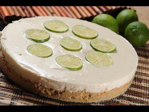 Pay de limón sin horno - YouTube