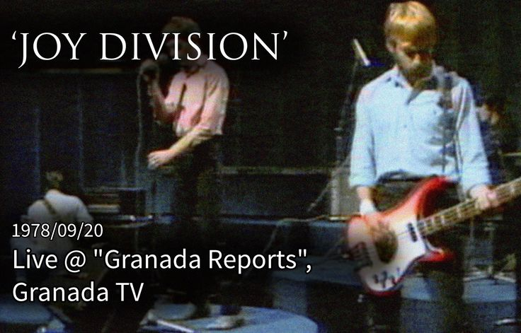 Joy Division - Shadowplay. Granada TV, 20 September 1978. Joy Division first TV appearance. Remastered. 480p