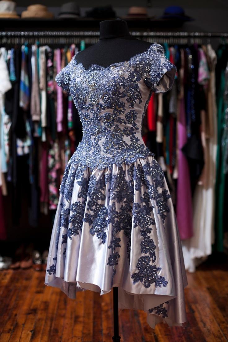 3 Home Decor Trends For Spring Brittany Stager: Vintage Wedding Dress Remake