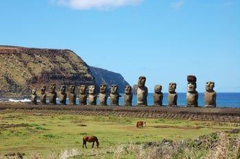 L'île de Pâques au Chili