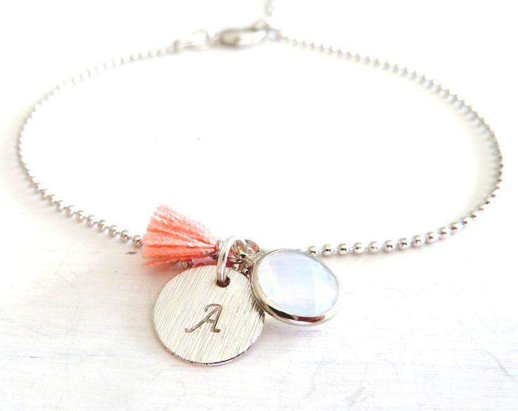 """Freundschaftsbänder - ➳❤️➳Armband """"BUCHSTABE """" Farbwahl ➳❤️➳ - ein Designerstück von avaundmila bei DaWanda"""
