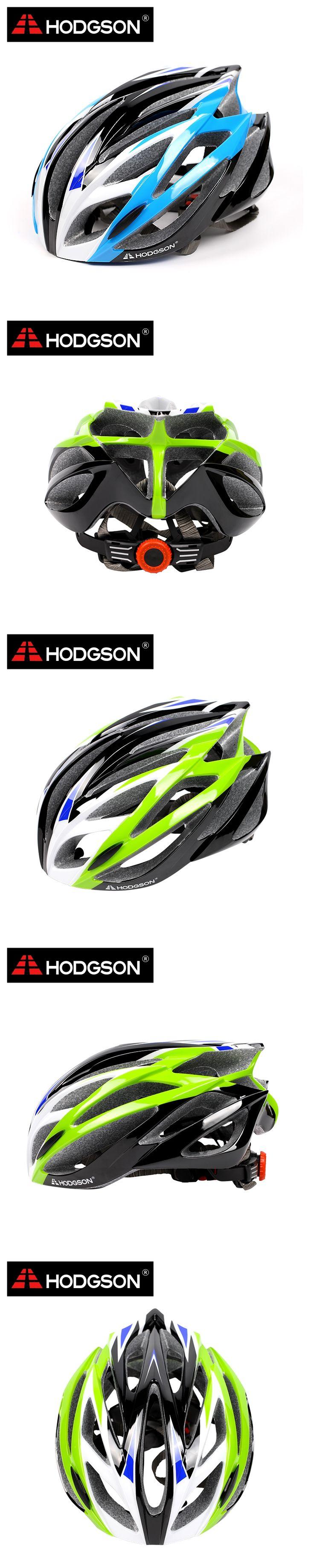 8015 2016 HODGSON New Ultralight 21 Vents Cycling Helmet Adjustable Road Bike Helmet Integrally-Molded Safety Bicycle Helmet