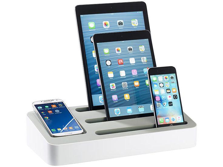 http://j.mp/Mobi-Test-Port-Netzteil-von-Pearl callstel 4in1 Ladeständer mit 5-Port-Netzteil für Tablets & Smartphones: http://www.pearl.ch/ch-a-PX1862-1051.shtml?vid=613&wa_id=26&wa_num=1
