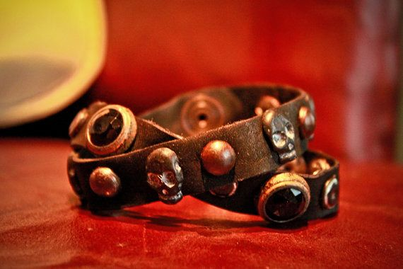 kibisis leather cuff by kibisis on Etsy