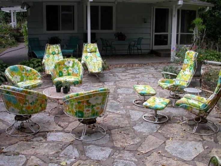 1000 ideas about vintage patio furniture on pinterest - Old fashioned patio furniture ...