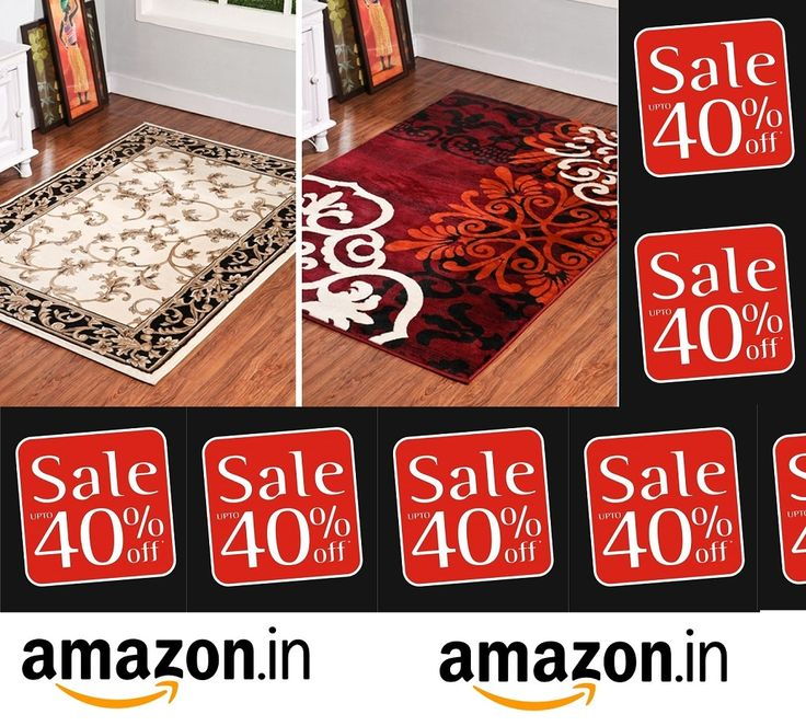 Keep shopping with us at #amazon.in and and get upto upto 40% off on our #carpets, #rugs, #shaggycarpets, #arearugs by follow the #image.