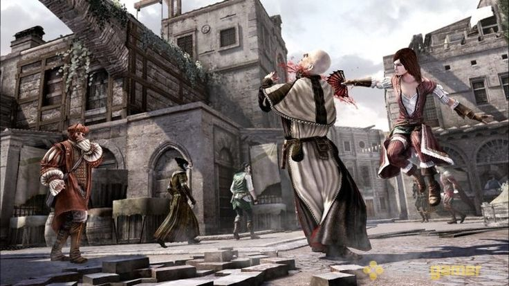 Assassin's Creed Brotherhood Game Image Screenshot