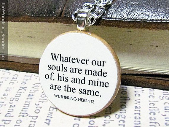 Quotes from wuthering heights on cathy and heathcliff's love?