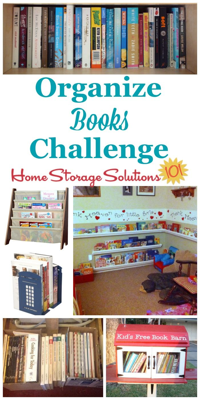 How To Organize Books In Your Home