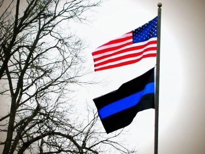 law enforcement american flag - photo #32