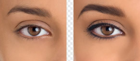 eyeliner tattooing before and after | Permanent makeup - eyeliner and eyebrows