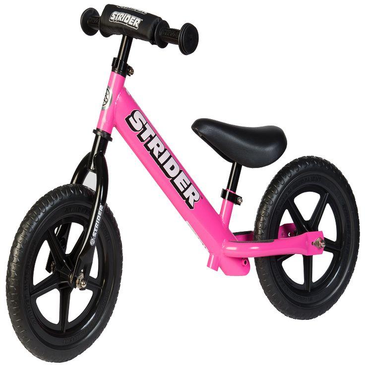 GoGet Riding Shop Strider 12 Sport Pink Balance bike