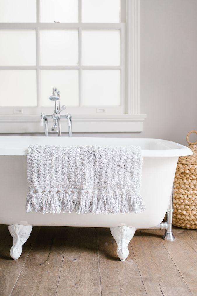LC Lauren Conrad confetti bath rug