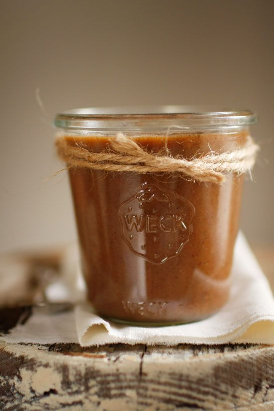 Homemade speculoos cookie butter