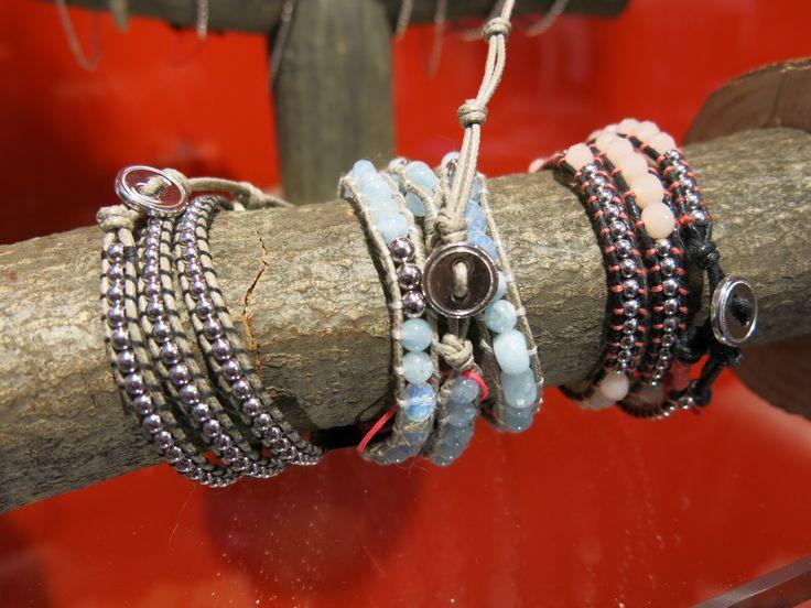 #bracelets #wrapbracelets #stones #silver #pigal #pigalboutique #musthave www.pigal.com